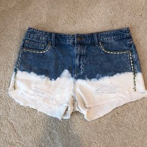 Free People Faded Cutoff Jean shorts